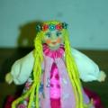 Кукла «Забава» (Сухое валяние)