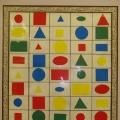 Фигурный домик. Математическая игра для детей