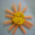 «Пусть всегда будет Солнце!» Интегрированная НОД с презентацией по лепке с использованием бросового материала