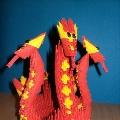 «Дракоша— 2012» (модульное оригами)