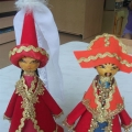Куклы «Свадебные костюмы казахов»