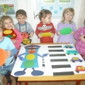 Фотоотчет «Зебра пришла в детский сад»