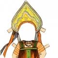 Дидактическое пособие «Наряди куклу в национальный костюм»