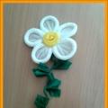 И опять они же— цветы, цветы, цветы… Мастер-класс: цветы из бумажных салфеток в технике «гофротрубочки»