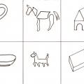 Конспект совместной деятельности с детьми подготовительной группы с ОНР. Беседа о домашних животных
