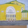 План НОД по ОО «Художественное творчество» (рисование) в подготовительной группе «Родной город»