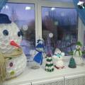 «Новогодние снеговики». Поделки родителей и детей к конкурсу «Новогодний калейдоскоп»