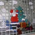 «Дед Мороз». Оформление стены в музыкальном зале