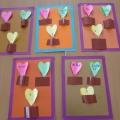 Подарок семье в День Святого Валентина.
