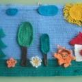 Дидактическая игра для детей младшего дошкольного возраста «Семья из геометрических фигур»
