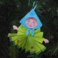 Новогоднее украшение для ёлочки «Матрёшка».