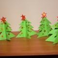 «Елочка, елочка, тонкая иголочка»— масте-классс, оригами