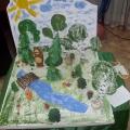 Как сделать макет леса для детского сада