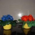 Цветы из холодного фарфора.