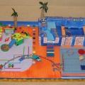 Макет детского игрового центра «Радуга»