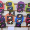 Художественное творчество во 2 младшей группе «Космическая ракета». Пластилинография