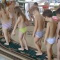 Закаливание детей в детском саду.