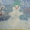 Конкурс рисунков и поделок «Зимушка-зима к нам в гости пришла»