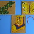 Развивающие игры-шнуровки для дошкольников