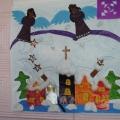 «Рождественская сказка» (коллективная работа для делей 5–6 лет).