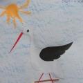 «Перелётные птицы»— творчество наших детей