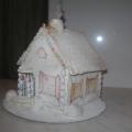 «Снежный дом» из соленого теста
