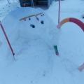 Зимние чудеса. Снежные постройки на участках