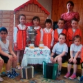 Развлечение «Посиделки» для детей 5–7 лет. Приобщение детей к истокам русской культуры
