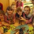 Конспект занятия по рисованию в нетрадиционной технике граттаж «Раскопки динозавра». Подготовительная группа