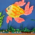 «Золотая рыбка». Квиллинг