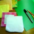 Апликация в технике бумажная пластика «Ёлочка», первая младшая группа