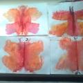 «Красавица— бабочка». Монотипия