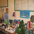 Выставка новогодних поделок в детском саду