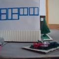 Макет здания детского сада
