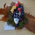 «Осенние мотивы». Выставка детского и семейного творчества из природных материалов