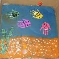 Фотоотчёт об изготовлении детьми настольной игры «Рыбки»