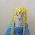 Куклы из бросового материала
