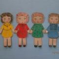 Дидактическая игра «Поможем куклам одеться на прогулку»