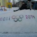 В ногу со временем, или Олимпийские снежные постройки
