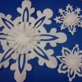 Мастер-класс «Кружевная снежинка»
