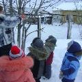 Птичья столовая. Акция в детском саду