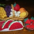 Методическое пособие «Вязаные фрукты и ягоды».