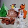 Интегрированное занятие по художественному творчеству и детской литературе по мотивам русской народной сказки «Заюшкина избушка»