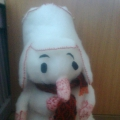 Новогодняя поделка «Снеговик»