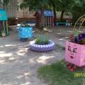 Летний участок в детском саду