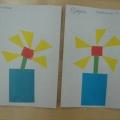 Детские аппликации из геометрических фигур