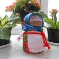 «Зернушка» (Крупеничка, Горошинка)— народная кукла-оберег на сытость и достаток в доме.