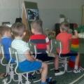 Занятие по аппликации в старшей группе компенсирующей направленности для детей с ЗПР «Ракеты и кометы»