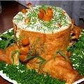 Салат «Пенек»