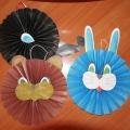 Мастер-класс: «Зайчик» в технике оригами